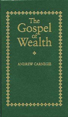 Andrew Carnegie wealth essay summary